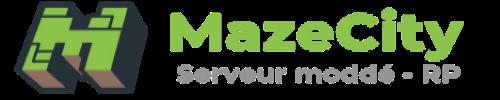 Serveur Minecraft MazeCity RolePlay